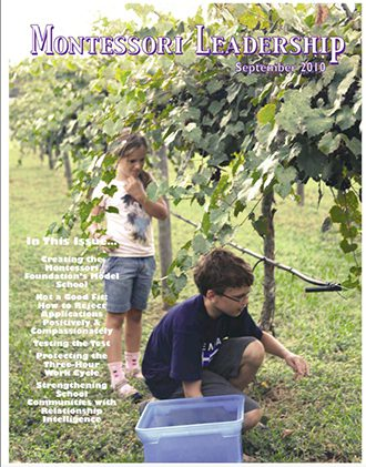 Montessori Leadership Magazine – September 2010