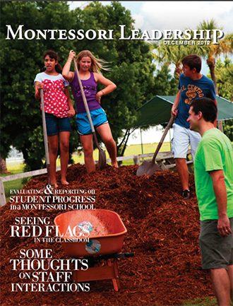 Montessori Leadership Magazine – December 2012