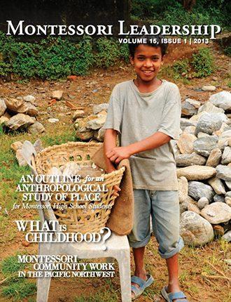 Montessori Leadership Magazine – March 2013