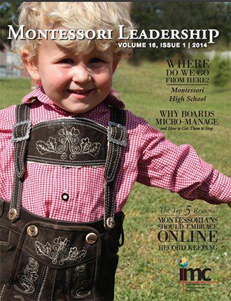 Montessori Leadership Magazine – January 2014