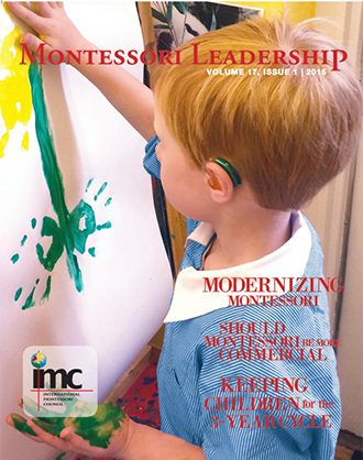 Montessori Leadership / January 2015