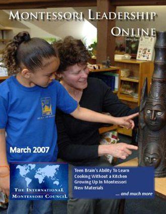 Montessori Leadership Magazine – March 2008