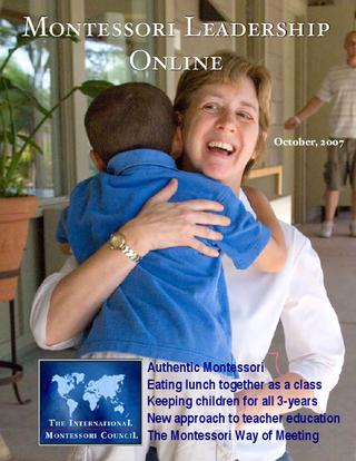 Montessori Leadership Magazine – October 2008