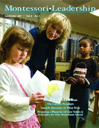 Montessori Leadership Magazine – August 2007