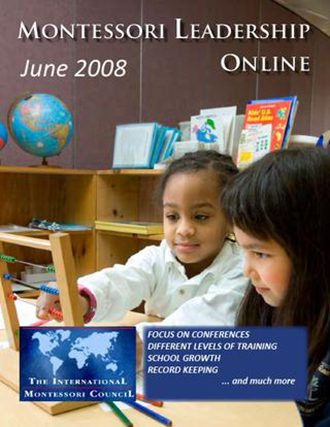 Montessori Leadership Magazine – June 2008