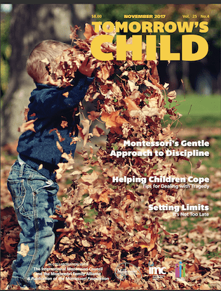 Tomorrow's Child Magazine – November, 2017