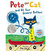 Book Review: Pete the Cat and His Four Groovy Buttons