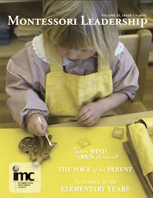 Montessori Leadership Magazine – January,  2019