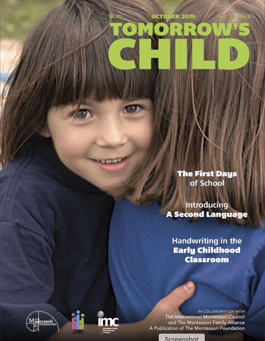 Tomorrow's Child – September, 2019