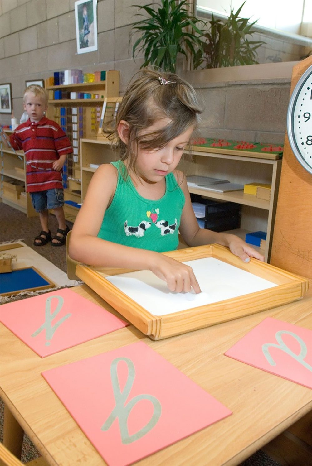 Writing with the Mind: Handwriting in the Montessori Early Childhood Classroom