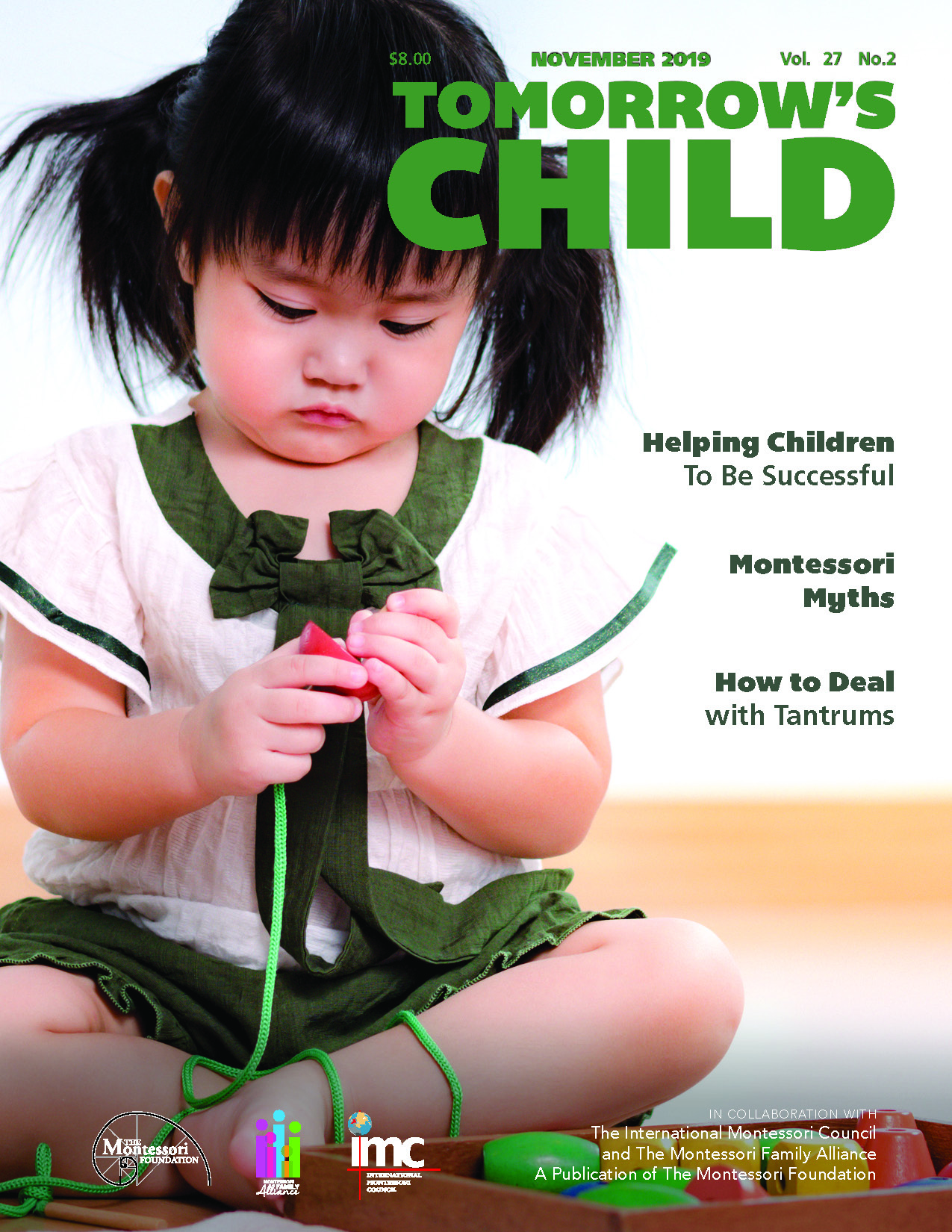 Tomorrow's Child Magazine November 2019