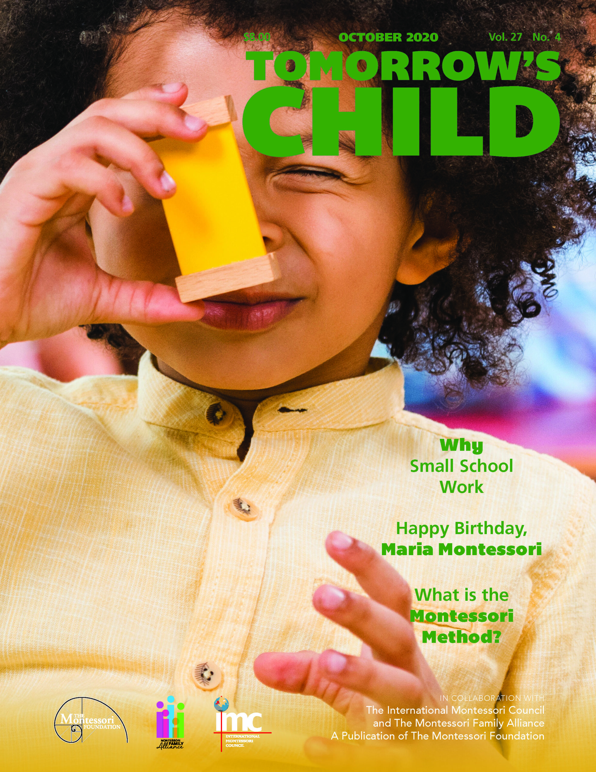 Tomorrow's Child | October 2020