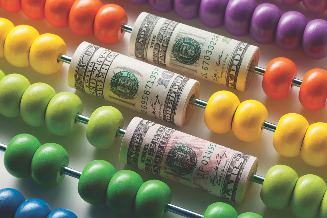 money and abacus