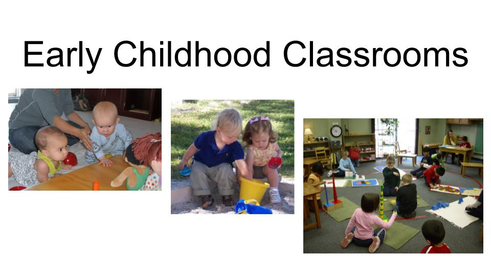Journey Into the Montessori Learning ExperienceI  What to Expect in Early Childhood Classrooms