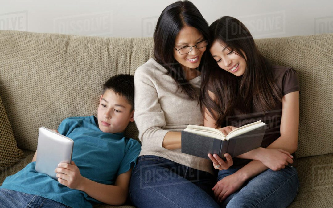 Reading Together  Even When Your Child Becomes an Independent Reader